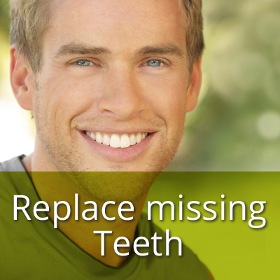 Dental Treatment Replace Missing Teeth