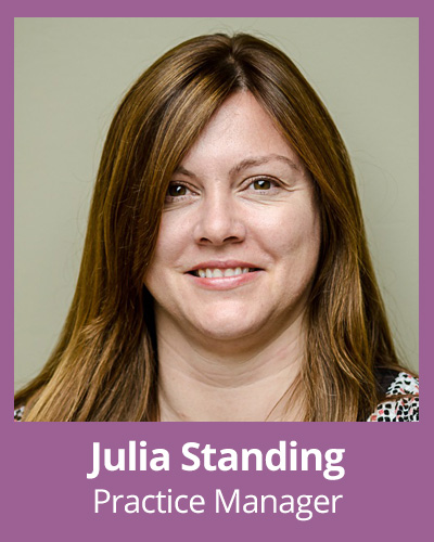 Julia Standing Pratice Manager
