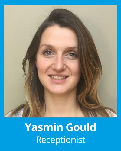 Yasmin Gould Recptionist
